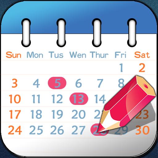 ハチカレンダー(iPhoneカレンダー対応)