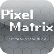 Pixel Matrix, a retro animation studio icon