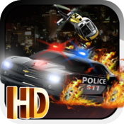 PD NITRO PRO HD - Top Best Police Chase Car Race Escape Game icon