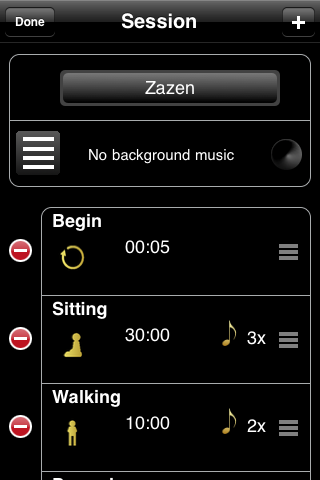 Zazen - Meditation Timer