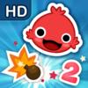 iBlast Moki 2 HD - Games - Launching Puzzles - iPhone - iPad - By Godzilab