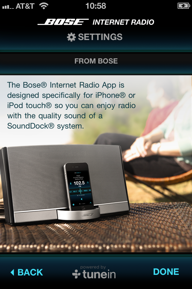 Bose Internet Radio App screenshot 3