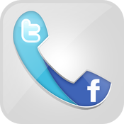 Social Contacts Speed Dialer: With Facebook And Twitter Integration icon