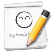My Wonderful Days : Daily Journal/Diary icon