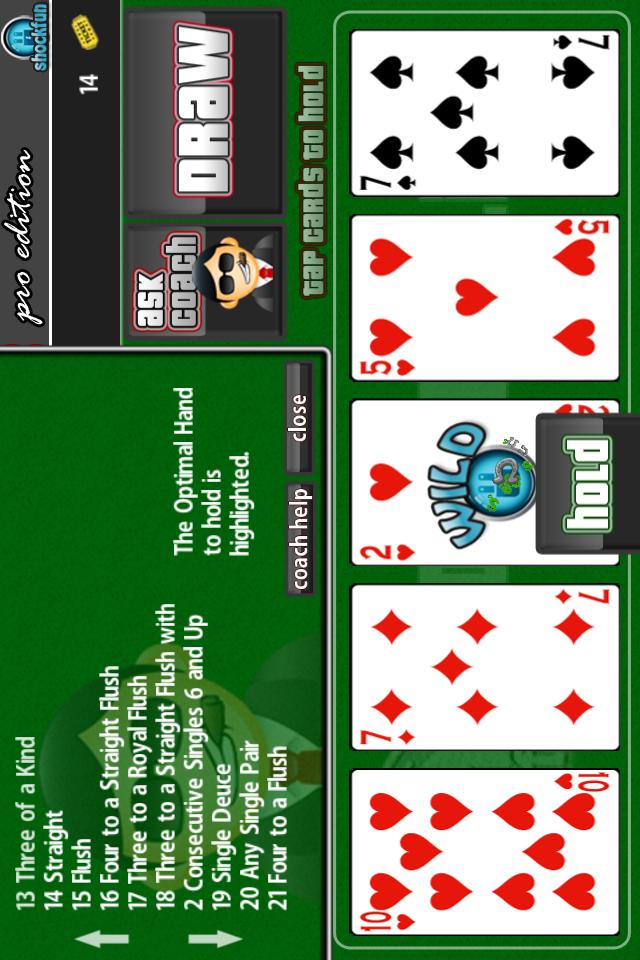Double Bonus Poker Mobile Free Casino Game - IOS / Android Version