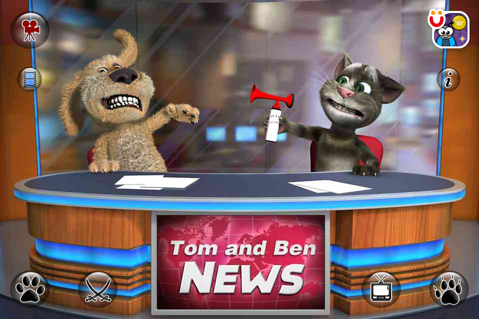 Talking Tom  Ben News