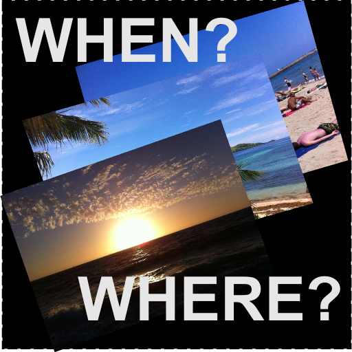 When &amp; Where - Find out when and where you took that photo