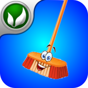 Tilt To Clean: Magic Broom - Relax Action Game icon
