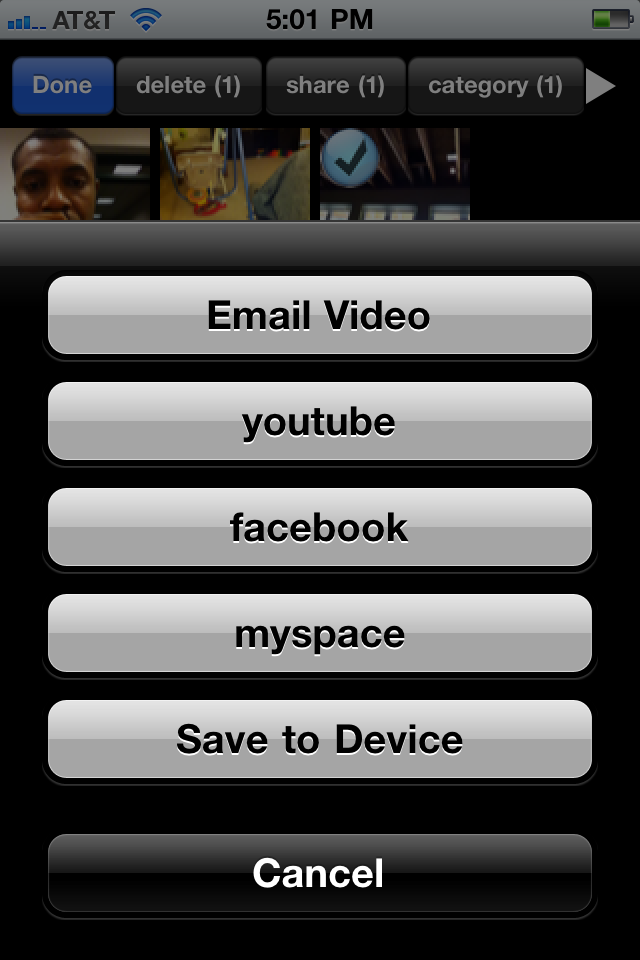 Photo Org your social album with WiFi, facebook, myspace and youtube free app screenshot 1