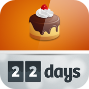 22 Days HD ~ countdowns with style icon