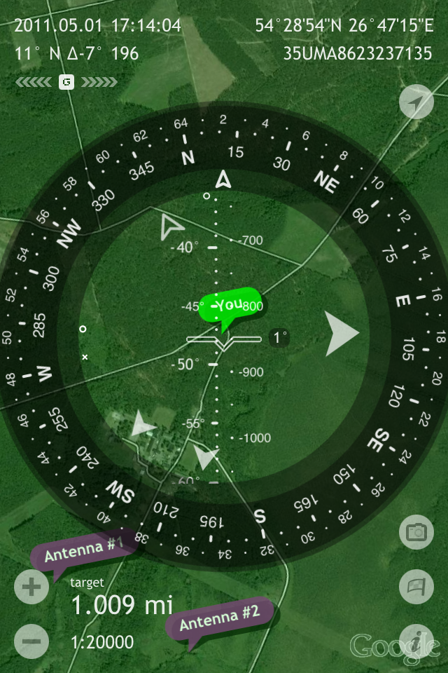 Image of Commander Compass Lite for iPhone
