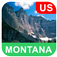 Montana, USA Offline Map