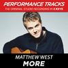 More (Performance Tracks) - EP, Matthew West