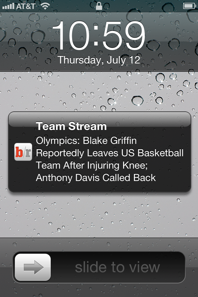 Bleacher Report Provides Team Specific Sporting News