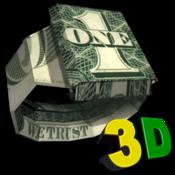 折纸 Dollar Origami