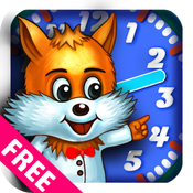 What time is it, Mr. Wolf? - Fun Time Learning & Telling Games for Kids LITE icon
