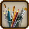 MyBrushes for iPhone - Painting Drawing with 100 brushes - iPhone - iPod - Entertainment - Drawing - By effectmatrix
