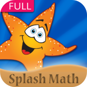 Splash Math - 1st grade worksheets of Numbers, Counting, Addition, Subtraction & 11 other chapters icon