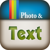 Text on Foto icon
