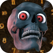 Abominable Skull Clock HD icon