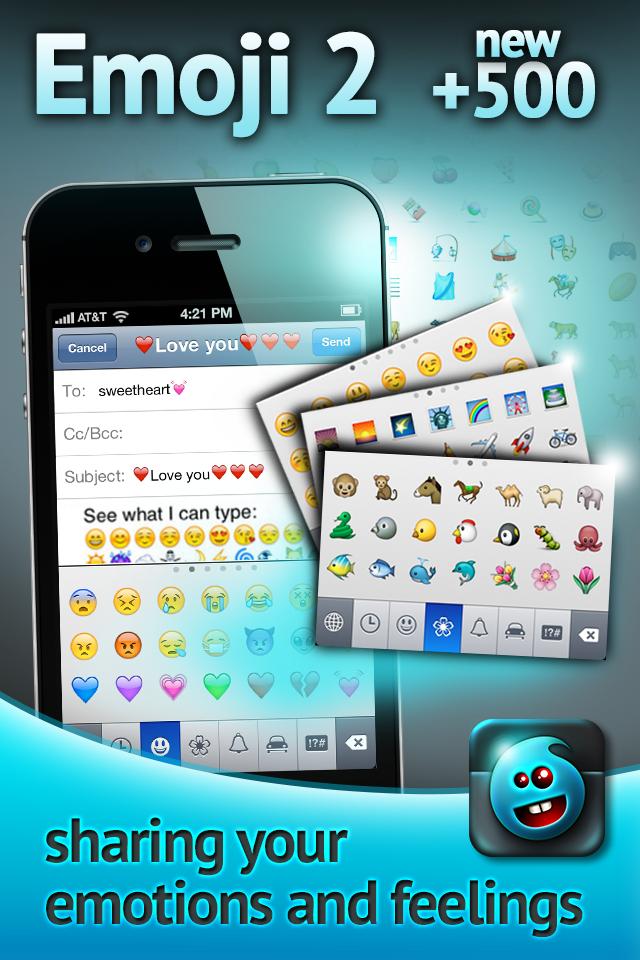 Emoji 2 - New Emoji Social Networking Utilities free app ...
