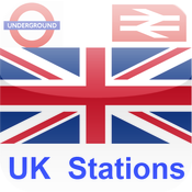 UK Train and Underground Stations Finder icon