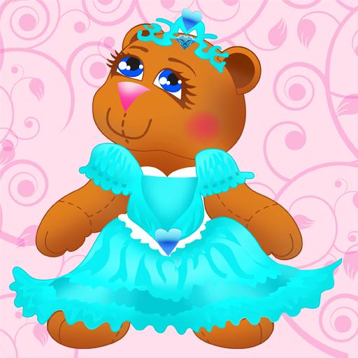 Princess Bear Memory Match