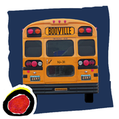 Bus To Booville: a funny Halloween costume story book by Wendy Wax (iPhone version by Auryn Apps) icon
