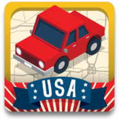 Geography Drive USA™ icon