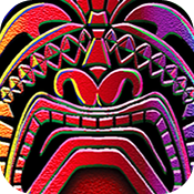 Tiki Torch casino slot game icon