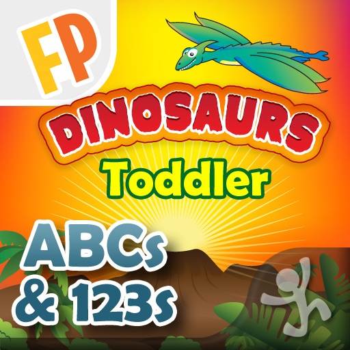 Toddler Counting & Alphabet- Dinosaurs - a Fingerprint Network App