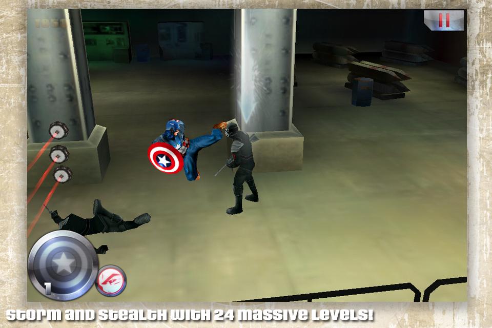 ����� ���� ����� ������� ������� ������ ���� ������� Captain America v1.0.2