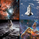 Beyond Earth - A Visual Journey Spanning the Universe and Human Space Flight
