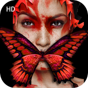 Art Butterfly Booth HD icon