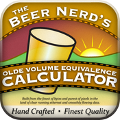 The Beer Nerd's Olde Volume Equivalence Calculator icon
