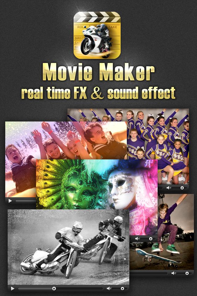 Movie making sound effects