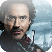SHERLOCK HOLMES: A GAME OF SHADOWS Movie App icon