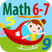 Math is fun: Age 6-7 (Free) icon