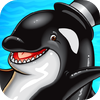 Whales of Cash casino slot game for Android logo