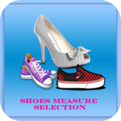 Shoes Measure Selection icon