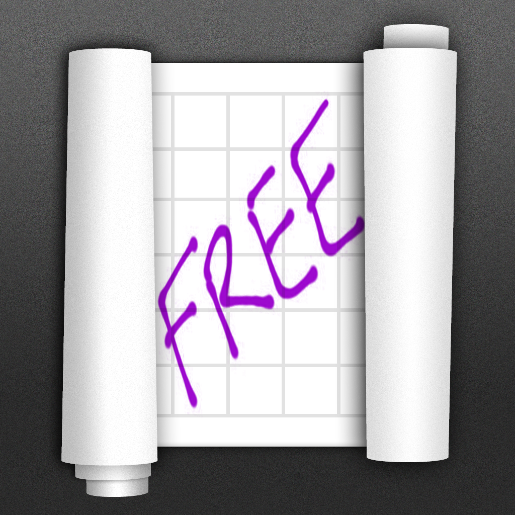 Sketch Rolls Free — Unique Sketching, Note Taking and Drawing Application