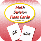 Math Division Flash Cards For 3rd Grade icon