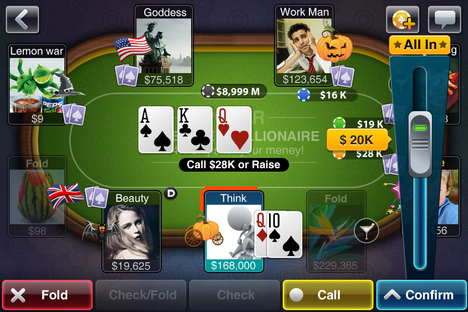 Texas HoldEm Poker Deluxe for iPhone