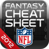 NFL Fantasy Football Cheat Sheet 2012artwork