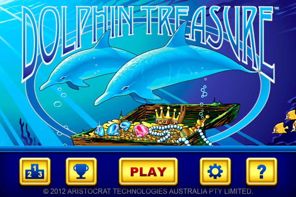 dolphin treasure free slot play