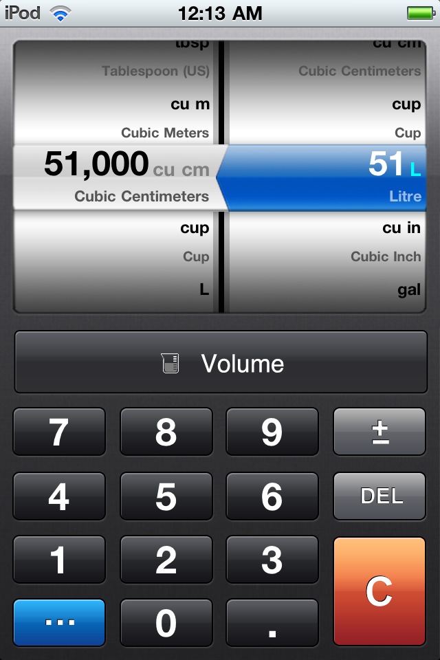 Converter — The Amazing Unit Converter Screenshot