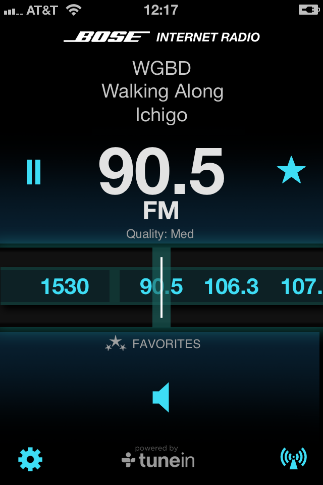 Bose Internet Radio App screenshot 2