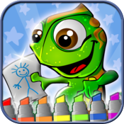 Kids Coloring Book - draw , color and paint studio pro icon