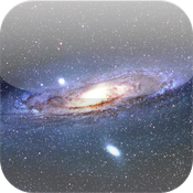 Wallpapers of the cosmos for iPad - Hubble - icon