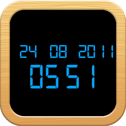 Digital Clock Night